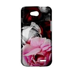 Black and White Roses LG L90 Hardshell Case