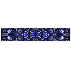Decorative Retro Floral Print Flano Scarf (large)