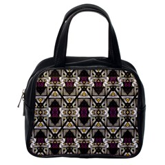 Abstract Geometric Modern Seamless Pattern Classic Handbag (one Side)