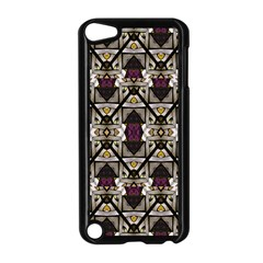 Abstract Geometric Modern Seamless Pattern Apple Ipod Touch 5 Case (black)