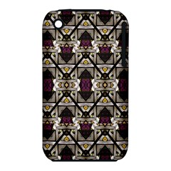 Abstract Geometric Modern Seamless Pattern Apple iPhone 3G/3GS Hardshell Case (PC+Silicone)