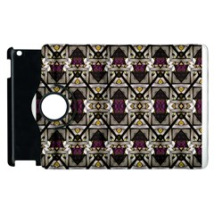 Abstract Geometric Modern Seamless Pattern Apple iPad 2 Flip 360 Case