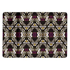 Abstract Geometric Modern Seamless Pattern Samsung Galaxy Tab 10.1  P7500 Flip Case