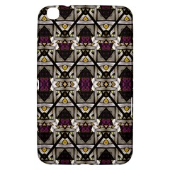 Abstract Geometric Modern Seamless Pattern Samsung Galaxy Tab 3 (8 ) T3100 Hardshell Case