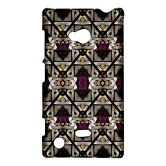 Abstract Geometric Modern Seamless Pattern Nokia Lumia 720 Hardshell Case
