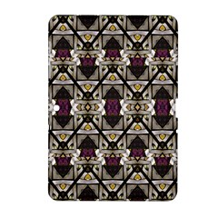 Abstract Geometric Modern Seamless Pattern Samsung Galaxy Tab 2 (10.1 ) P5100 Hardshell Case