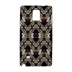 Abstract Geometric Modern Seamless Pattern Samsung Galaxy Note 4 Hardshell Case