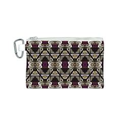 Abstract Geometric Modern Seamless Pattern Canvas Cosmetic Bag (Small)