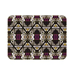 Abstract Geometric Modern Seamless Pattern Double Sided Flano Blanket (mini)