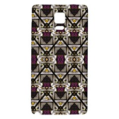 Abstract Geometric Modern Seamless Pattern Samsung Note 4 Hardshell Back Case