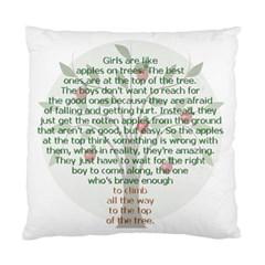 Appletree Cushion Case (single Sided)