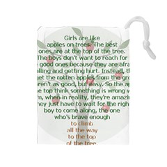 Appletree Drawstring Pouch (Large)