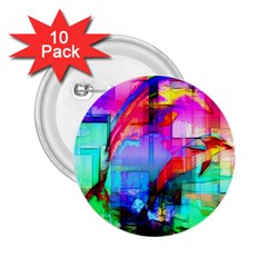 Tim Henderson Dolphins 2 25  Button (10 Pack)
