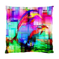 Tim Henderson Dolphins Cushion Case (single Sided)