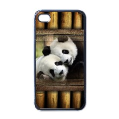 Panda Love Apple Iphone 4 Case (black)