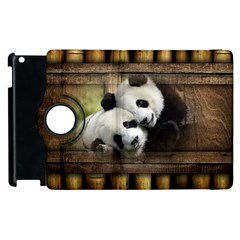 Panda Love Apple Ipad 2 Flip 360 Case