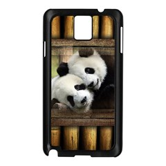 Panda Love Samsung Galaxy Note 3 N9005 Case (black)