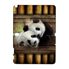 Panda Love Samsung Galaxy Note 10.1 (P600) Hardshell Case