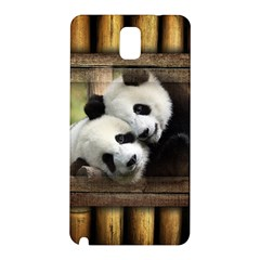 Panda Love Samsung Galaxy Note 3 N9005 Hardshell Back Case