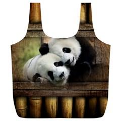 Panda Love Reusable Bag (XL)