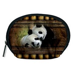 Panda Love Accessory Pouch (Medium)