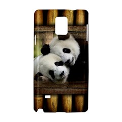 Panda Love Samsung Galaxy Note 4 Hardshell Case