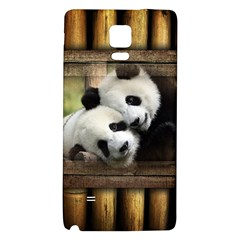 Panda Love Samsung Note 4 Hardshell Back Case