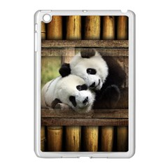 Panda Love Apple Ipad Mini Case (white)