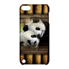 Panda Love Apple Ipod Touch 5 Hardshell Case With Stand