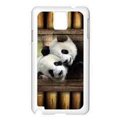 Panda Love Samsung Galaxy Note 3 N9005 Case (white)