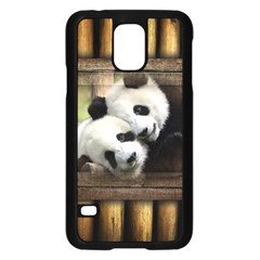 Panda Love Samsung Galaxy S5 Case (black)