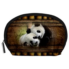 Panda Love Accessory Pouch (large)