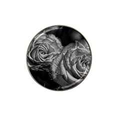 Black And White Tea Roses Golf Ball Marker 10 Pack (for Hat Clip)