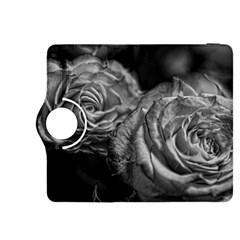 Black And White Tea Roses Kindle Fire Hdx 8 9  Flip 360 Case