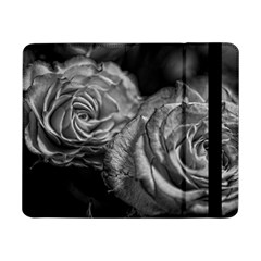 Black And White Tea Roses Samsung Galaxy Tab Pro 8 4  Flip Case
