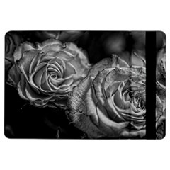 Black and White Tea Roses Apple iPad Air 2 Flip Case