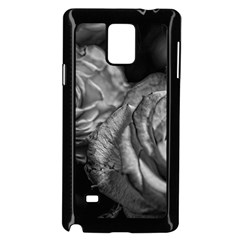 Black And White Tea Roses Samsung Galaxy Note 4 Case (black)