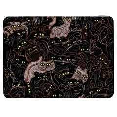 Black Cats Yellow Eyes Samsung Galaxy Tab 7  P1000 Flip Case
