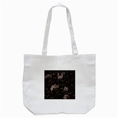 Black Cats Yellow Eyes Tote Bag (white)