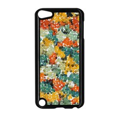 Paint Strokes In Retro Colors Apple Ipod Touch 5 Case (black)