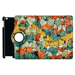 Paint strokes in retro colors Apple iPad 3/4 Flip 360 Case