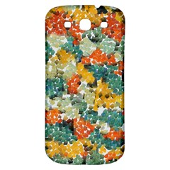 Paint Strokes In Retro Colors Samsung Galaxy S3 S Iii Classic Hardshell Back Case