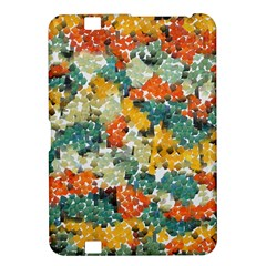 Paint Strokes In Retro Colors Kindle Fire Hd 8 9  Hardshell Case