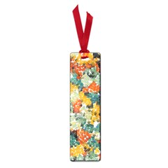 Paint strokes in retro colors Small Book Mark