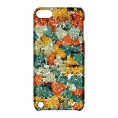 Paint Strokes In Retro Colors Apple Ipod Touch 5 Hardshell Case With Stand