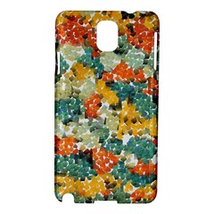 Paint strokes in retro colors Samsung Galaxy Note 3 N9005 Hardshell Case