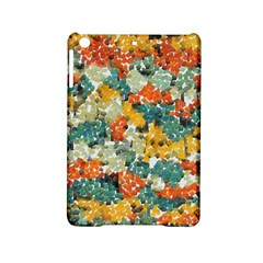 Paint strokes in retro colors Apple iPad Mini 2 Hardshell Case