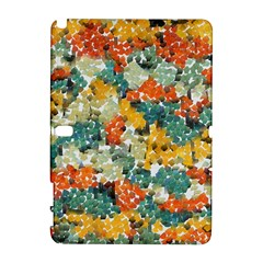Paint strokes in retro colors Samsung Galaxy Note 10.1 (P600) Hardshell Case
