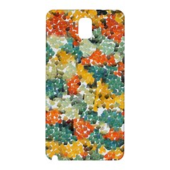 Paint strokes in retro colors Samsung Galaxy Note 3 N9005 Hardshell Back Case