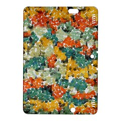 Paint strokes in retro colors Kindle Fire HDX 8.9  Hardshell Case